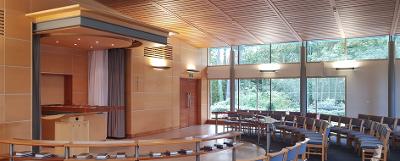 Milton Chapel inside